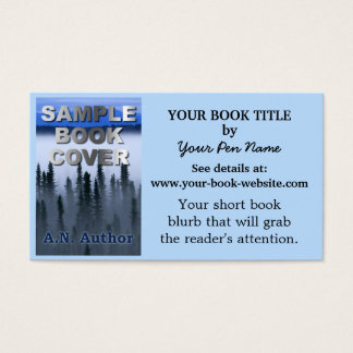 Writer Author Promotion Book Cover