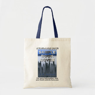 Writer Author Promotion Book Cover Advertising Budget Tote Bag