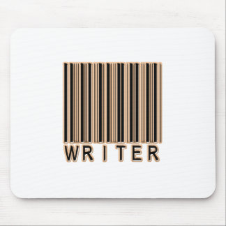 Writer Barcode Mouse Pad