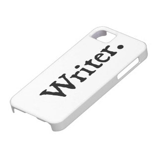 Writer. Barely There iPhone 5 Case