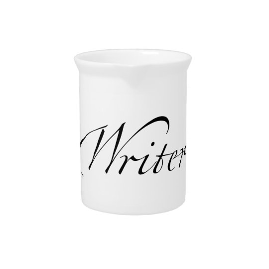 Writer Beverage Pitchers