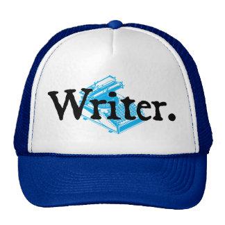 Writer (black lettering) cap