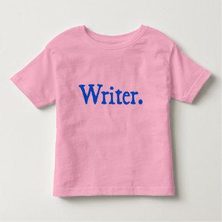 Writer (blue lettering) toddler T-Shirt