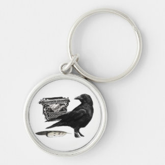 Writer Crow keychain