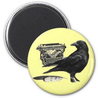 Writer Crow magnet