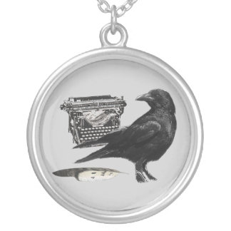 Writer Crow necklace