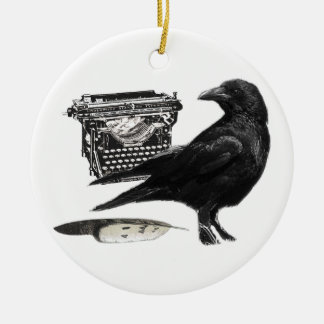 Writer Crow ornament
