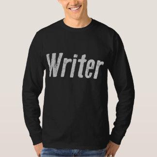 Writer Dark Shirt, Worn Typepress T-Shirt