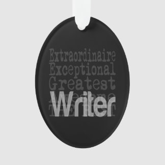Writer Extraordinaire Ornament