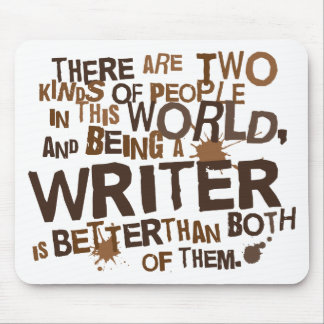 Writer Gift Mouse Pad