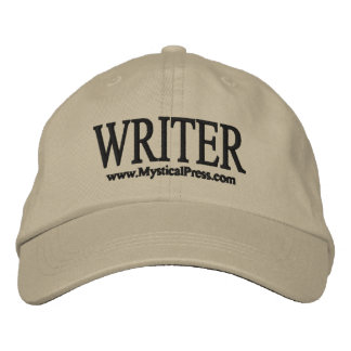 Writer Hat Embroidered Baseball Caps