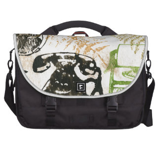 Writer in paradise commuter bag