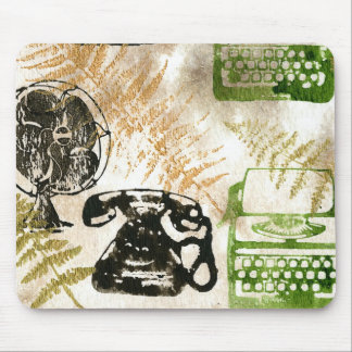 Writer in paradise mouse pads