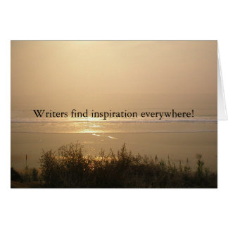 Writer Inspiration Card