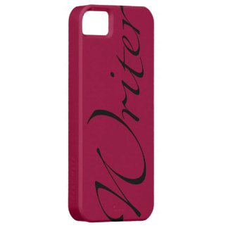 Writer iPhone 5 Case