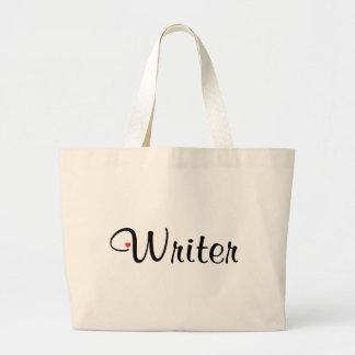 Writer Jumbo Tote Bag