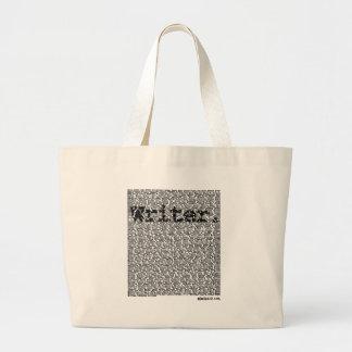 """""""Writer."""" Large Tote Bag"""