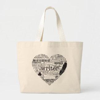 Writer Large Tote Bag
