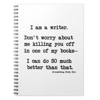 Writer Notebook/Journal Notebook