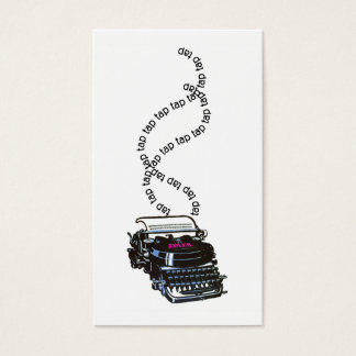 Writer or Editor Business Card