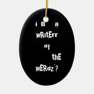 Writer Ornament