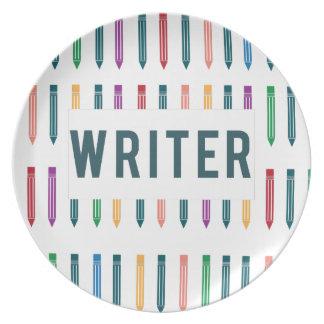 Writer Plate