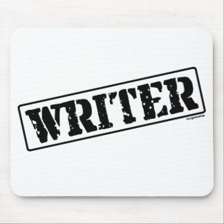 Writer Stamp Mouse Pads