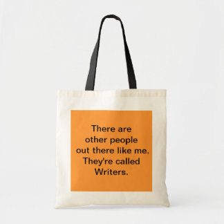 Writer Tote Canvas Bag