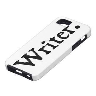 Writer. Tough iPhone 5 Case
