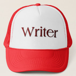 Writer Trucker Hat