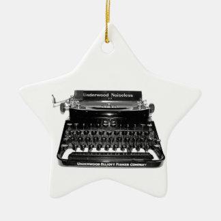 Writer Typewriter Author Novelist writer ORNAMENT