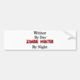 Writer Zombie Hunter Bumper Stickers