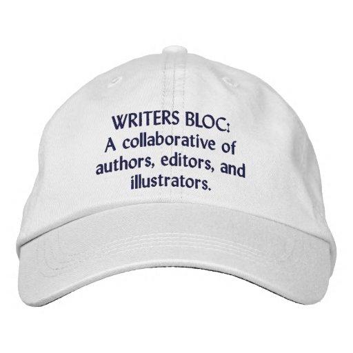 Writers Bloc Custom Baseball Cap