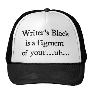 Writer's block cap