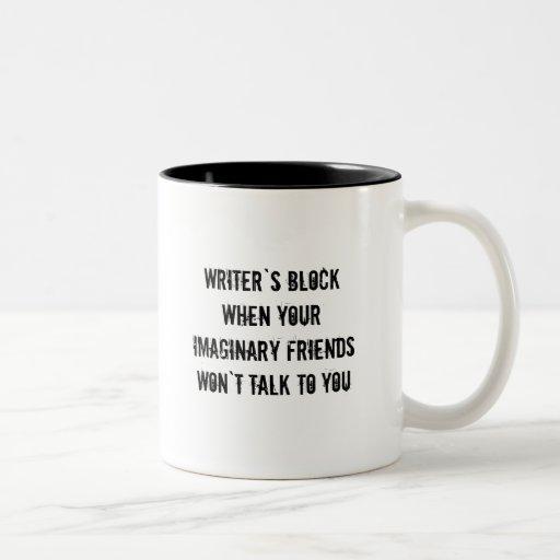 Writers Block Coffee Cup Coffee Mugs