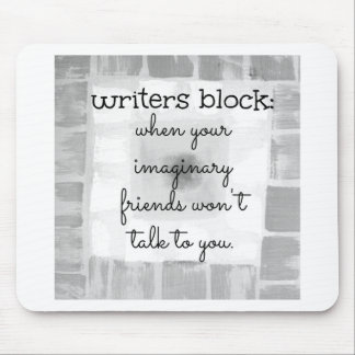 Writers Block Mouse Mat