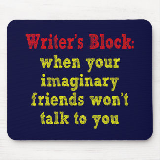 Writers Block: Mouse Pad