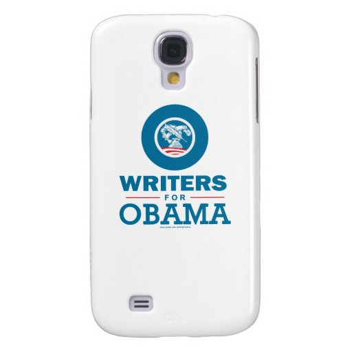 Writers for Obama Galaxy S4 Cases