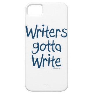 Writer's Gotta Write iPhone 5 Cover