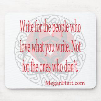 Writer's mousepad