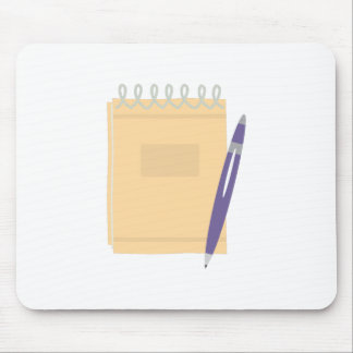 Writers Note Pad Mouse Pad