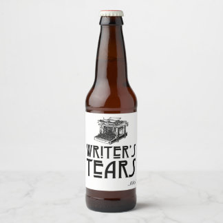 Writer's Tears Customisable Beer Label