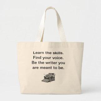 Writer's Tote Jumbo Tote Bag