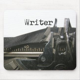 writer's typewriter mousepad