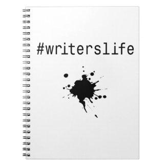 #writerslife notebook