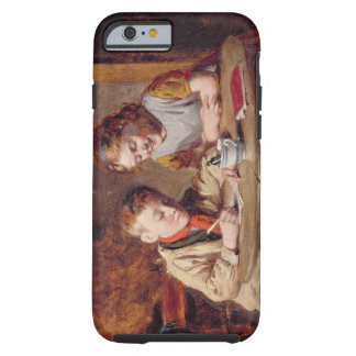Writing a Letter (oil on panel) Tough iPhone 6 Case