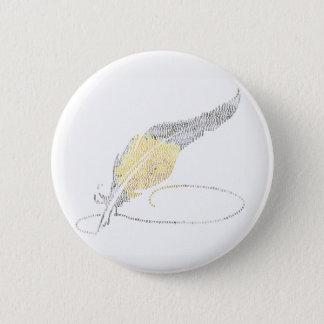 Writing & Art Pin - Flowers & Designs