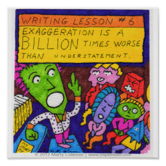 Writing Lesson #6 Poster