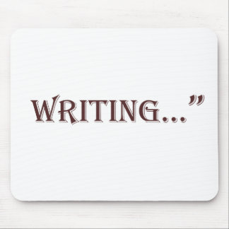 Writing Mouse Pad