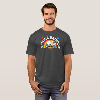 Writing Rainbow Men's Shirt